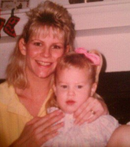 My mom & I when I was a wee little thing